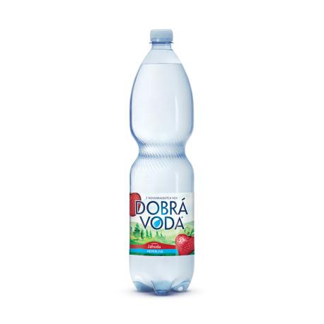Dobrá voda neperlivá jahoda 1.5l