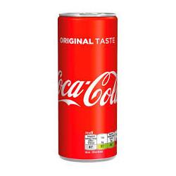 Coca-cola plech 0.25l